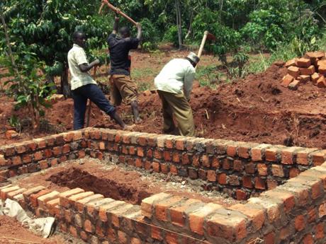 bouw toiletten